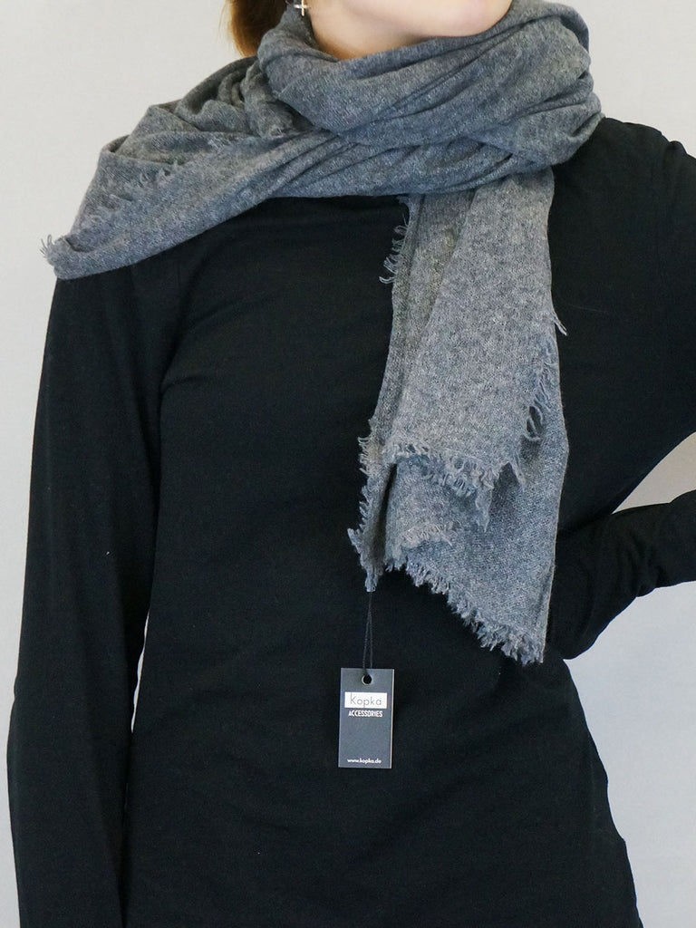 Kopka Cashmere Wrap Grey Mix