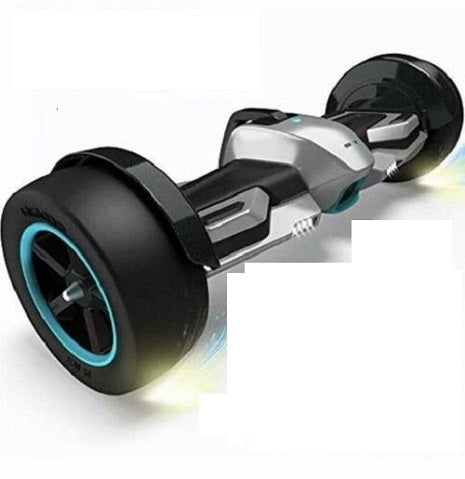 "Gyroor F1 Hoverboard Electric Scooter 8.5"" Self Balancing Scooter UL2272 Silver"
