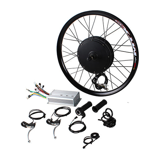 48V 2000W Gearless Conversion Kits Optional  Front Rear  Wheel Motor Battery Speed