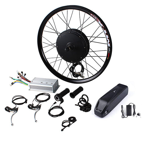 48V 500W Gearless Conversion Kits Optional  Front Rear Wheel  Motor Battery Speed
