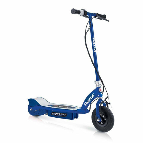 Razor E125 Kids Ride On 24V Motorized Battery Powered Electric Scooter Toy
