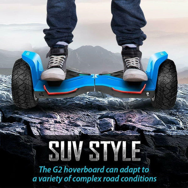 "Gyroor Warrior Hoverboard Electric Scooter 8.5"" Self Balancing Scooter 3 Colors"