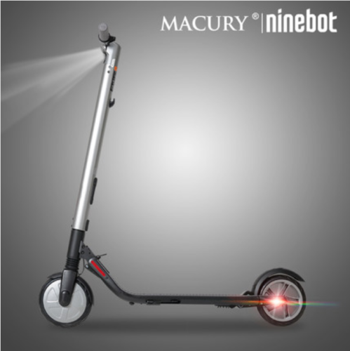 Ninebot by Segway ES2 Foldable Electric Scooter-Electric Brake