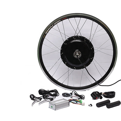48V 1500W Gearless  Conversion Kits Optional  Front Rear  Wheel  Motor Battery Speed