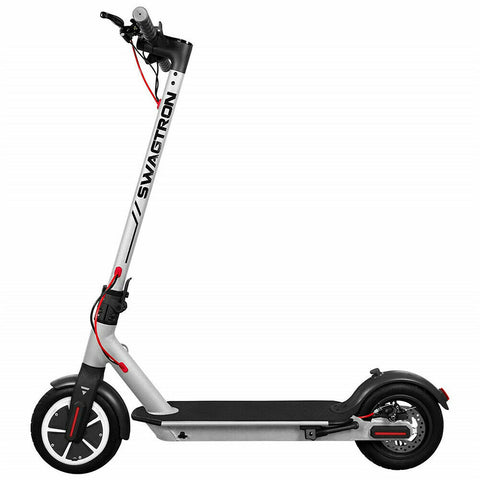 Swagtron Portable Folding High Speed Electric Scooter Cushioned Tires Swagger 5