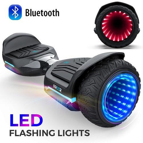 "Gyroor 6.5"" T581 Hoverboard Off Road Bluetooth LED Lights Self Balancing Scooter"