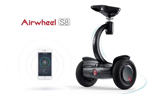 Airwheel S8 Self Balancing Wheel Double Battery Capacity