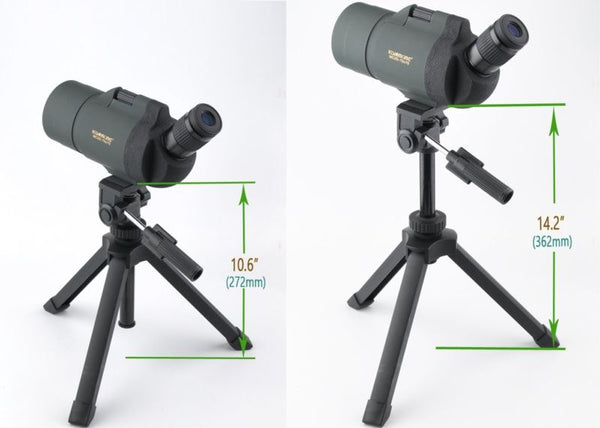 Gosky Heavy Duty Adjustable Table Top Tripod for Spotting scopes Binoculars