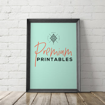 Best Selling Printables