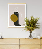 TIMEKEEPER I / Art Printable - Little Gold Pixel