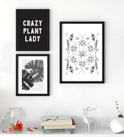 Boho Decor Starter Pack - Crazy Plant Lady - Little Gold Pixel