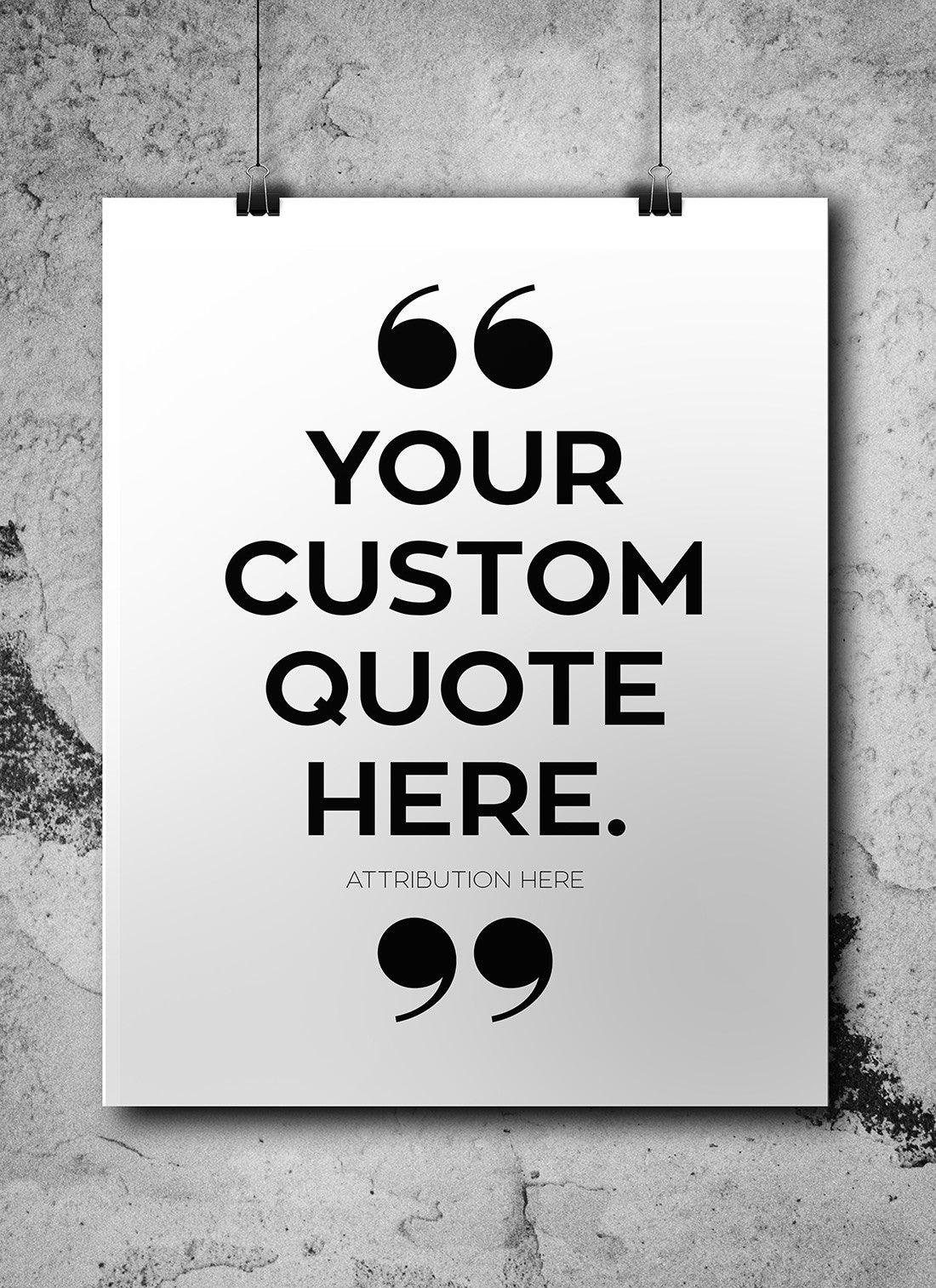 Custom Quote Printable - Little Gold Pixel - 2