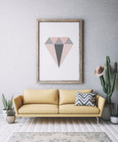 Geometric Diamond Art Printable