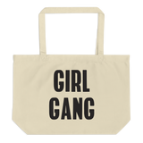 GIRL GANG tote bag - Little Gold Pixel