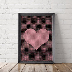 Heart Art Printable