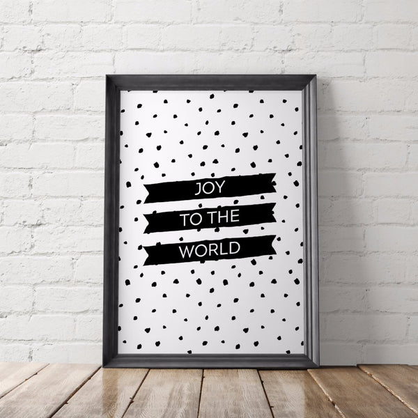 Joy to the World Printable Art