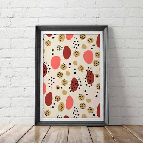 TERRACOTTA DESERT / Art Printable - Little Gold Pixel