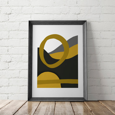 TIMEKEEPER II / Art Printable - Little Gold Pixel