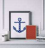 Nautical Anchor Art Printable
