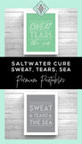 Cure for Anything Saltwater Art Printable - Little Gold Pixel