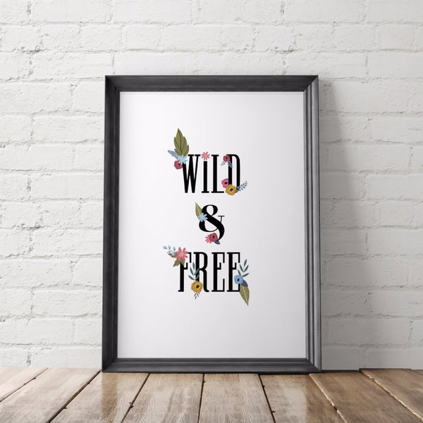 Wild and Free Printable Art