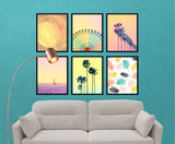 Swipe My Gallery Wall Process: Free Art Resources - Little Gold Pixel