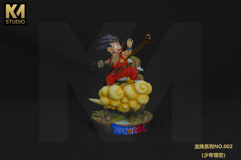 KM Studio Flying Nimbus Kid Goku [RED Ver.] (1297384865863)
