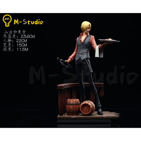 M-Studio Cook Sanji Resin Statue Collectible
