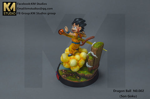 KM Studio Flying Nimbus Kid Goku [ORANGE Ver.] (1296770433095)