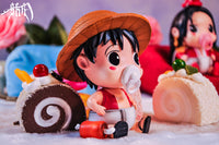 SKR Studio One Piece Baby Boa Hancock and Monkey D Luffy WCF