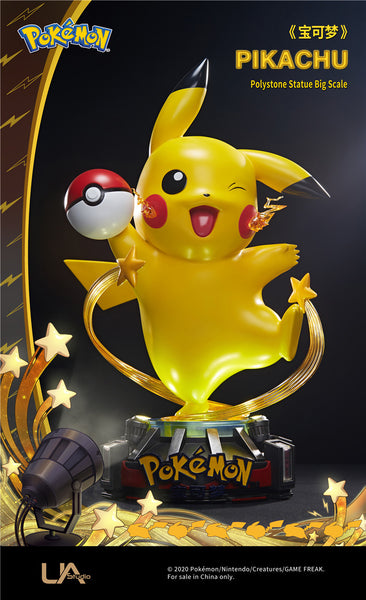 Unqiue Art Studio (License) Pokemon Pikachu Scale 1/1