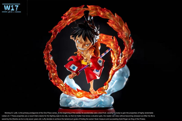 W-17 Studio SD Wanokuni Luffy 001