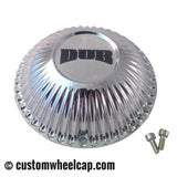 "DUB Bellagio Spinner Center Caps 8760-15 Chrome 22""-32"" (Set of 4)"