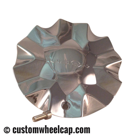 Vision 436 Hollywood 6 Wheel Center Cap C436R Chrome