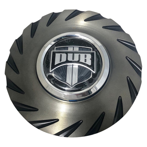 DUB Dazed Wheel Center Cap Black with Dark Tint 24""