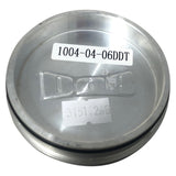 DUB Wheel Center Cap Machined with Dark Tint 1004-04-06DDT Pop-In