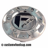 Fuel Off Road Center Caps 1002-43 Chrome (Set of 2)