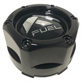 Fuel Off Road Center Caps 1003-48 Gloss Black Snap-In (Set of 2)