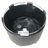 Fuel Off Road Center Cap 1003-49TMB 8-Lug Matte Black Snap-In Tall