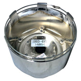 Fuel Off Road Center Cap 1003-49T 8-Lug Chrome Snap-In Tall