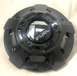 Fuel Off Road Center Cap 1003-81GBR 5 & 6 Lug Gloss Black with Chrome Logo