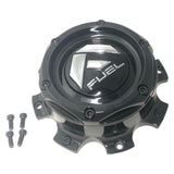Fuel Off Road Center Cap 1004-08GB 8 Lug Gloss Black