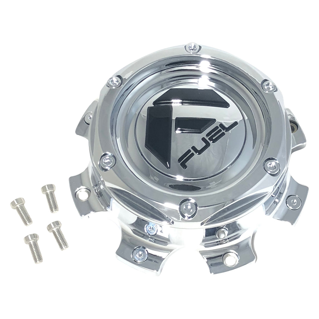 Fuel Off Road Center Cap 1004-08 8 Lug Chrome