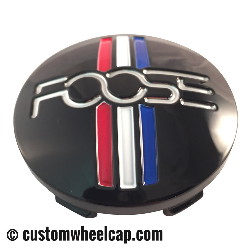 Foose Center Cap 1003-41 S1105-06-35 M-858 BK01 Black