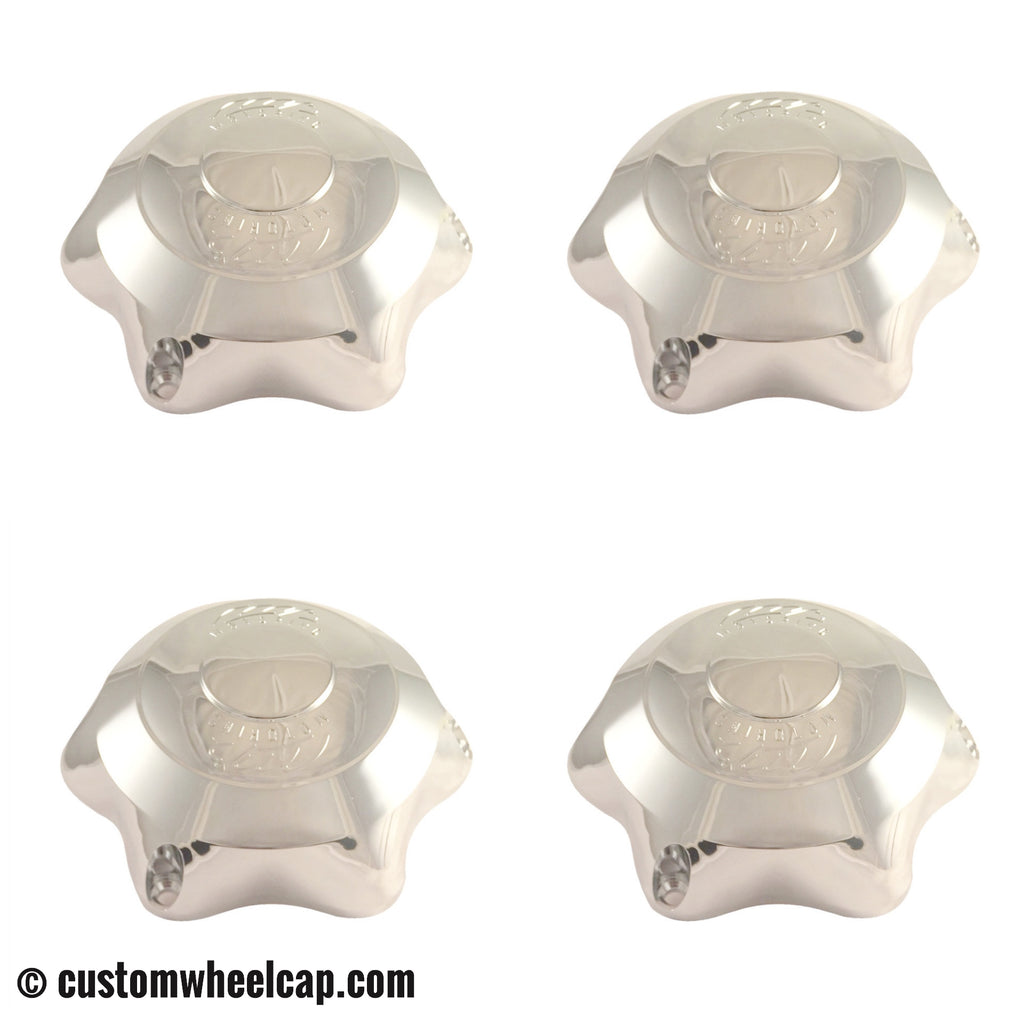MB Motoring Vision Center Caps CAP-162-B Chrome (Set of 4)
