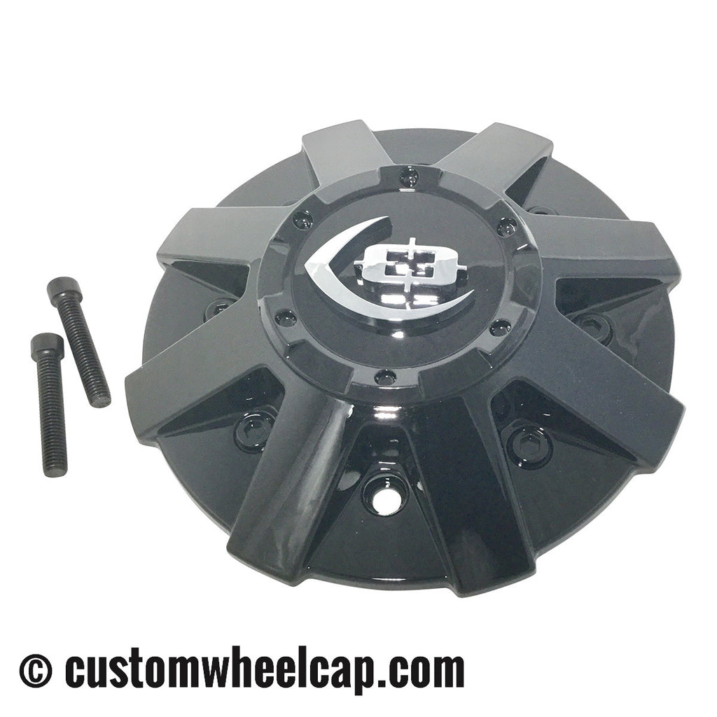 Vision Wheel Center Cap C420GB GLOSS BLACK