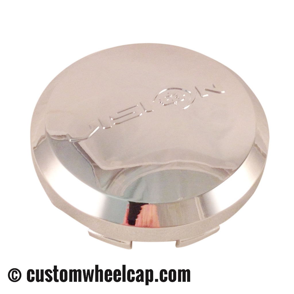 Vision 539 Shockwave Wheel Center Cap C539 Chrome