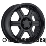 V-Tec Wheel Center Cap C326-5CL LG0902-15 Matte Black