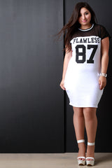 Mesh Contrast Flawless Number 87 Dress