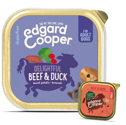 Edgard & Cooper Beef & Duck With Cranberry And Broccoli - HOUNDSONLINE